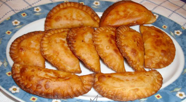 Empanadillas de arroz
