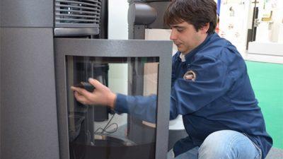limpieza y mantenimiento estufas pellets