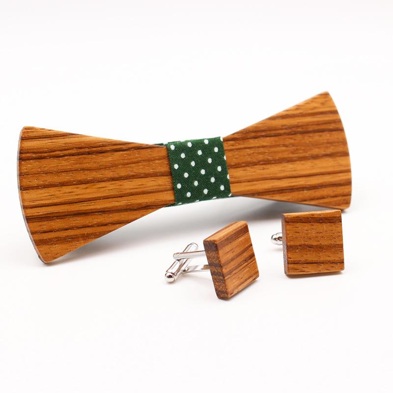gemelos madera zebrano pack